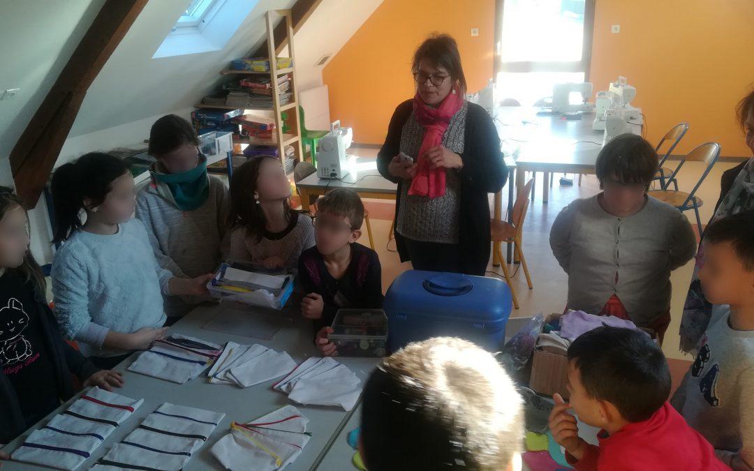 Atelier couture à la Borderie à Châteaubriant