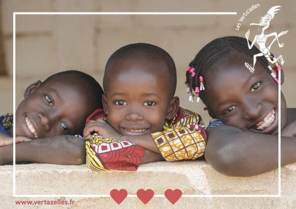 Les Verta'zelles viennent en aide aux enfants du Sénégal pour leur scolarisation avec Nocibé